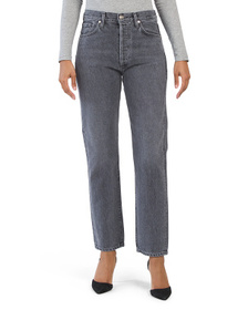 Made In Usa Farrow Benefit High Rise Relaxed Strai