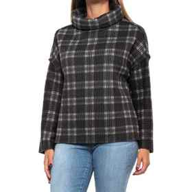 dylan Double Plaid Shirt - Long Sleeve (For Women)