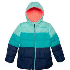 Pink Platinum 3-Tone Hooded Jacket - Insulated (Fo