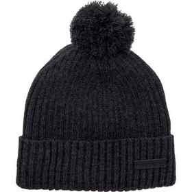 Rainforest Pompom Knit Beanie - Sherpa Lined (For