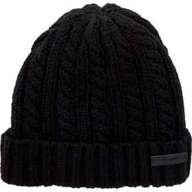 Rainforest Cable Knit Beanie - Sherpa Lined (For M