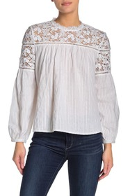 French Connection Colette Embroidery Top
