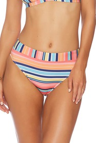 Splendid Juicy Fruit Stripe Bikini Bottoms