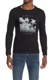 Hurley Logo Graphic Long Sleeve T-Shirt