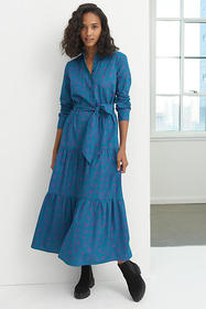 Anthropologie Alizeh Tiered Maxi Dress
