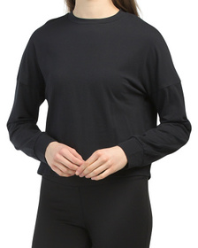 Shirred Back Cotton Top