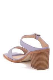 Intentionally Blank Impo Leather Block Heel Sandal