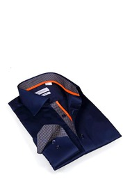 Levinas Solid Slim Fit Sport Shirt