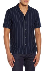 BLDWN Cabus Slim Fit Short Sleeve Sport Shirt