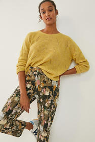 Anthropologie Keely Cable-Knit Sweater