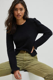 Anthropologie Drea Cropped Sweater