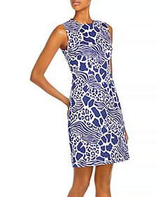 Adam Lippes - Printed Sheath Dress