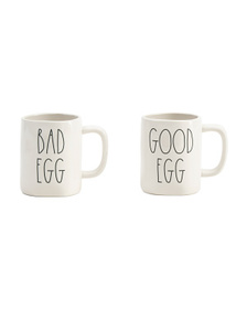2pk Bad Egg Good Egg Mugs