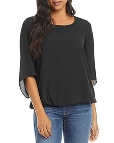 Karen Kane - Bracelet Sleeve Twist Back Top