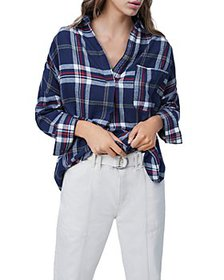 FRENCH CONNECTION - Stacci Plaid Top
