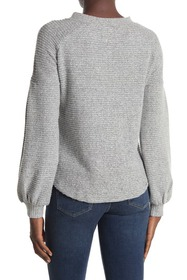 philosophy Crew Neck Rib Knit Sweater