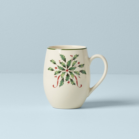 Lenox Hosting the Holidays Cocoa Mug