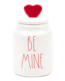 Be Mine Figural Canister