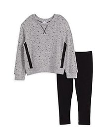 Splendid - Girls' Star Hacci Top & Leggings Set -