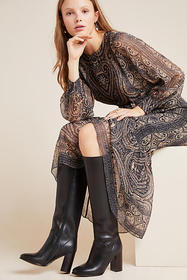 Anthropologie Jeffrey Campbell Classic Tall Boots