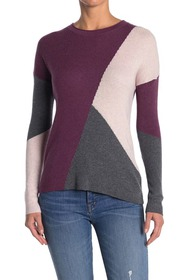 SmartWool Colorblock Ribbed Crew Neck Sweater