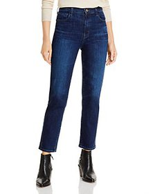 J Brand - Alma High Rise Straight Jeans in Impulse