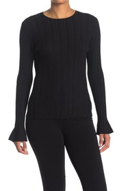 Theory Linear Knit Top