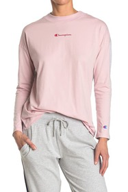 Champion Campus Mock Neck Long Sleeve Top