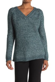 Theory Slouchy V-Neck Sweater