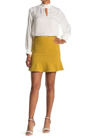 French Connection Dorotea Ruffled Mini Skirt