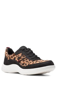 Clarks Lulu Leopard Print Walking Shoe