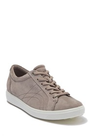ECCO Soft 7 Leather Stitched Sneaker