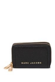 Marc Jacobs The Groove Leather Double Zip Card Cas