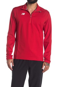 New Balance Logo Half Zip Training Pullover