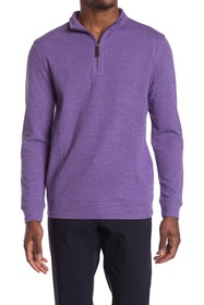Oxford Crawford Long Sleeve Quarter Zip Pullover