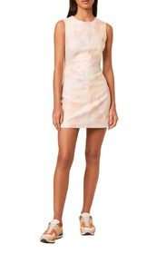 French Connection Sade Pink Sleeveless Minidress