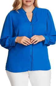 Vince Camuto Piped Button-Up Shirt