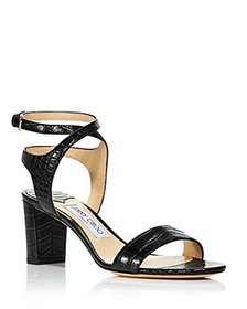 Jimmy Choo - Women's Marine 65 Strappy Sandals - 1