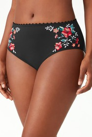Tommy Bahama Floral Springs Embroidered Bikini Bot
