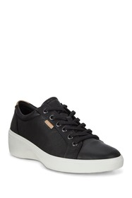 ECCO Soft 7 Wedge Leather Sneaker