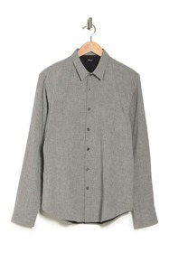 Theory Rammy Double Grid Slim Fit Shirt