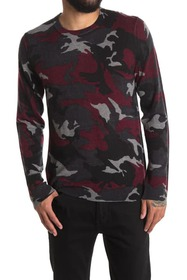 Zadig & Voltaire Kennedy Camo Print Cashmere Sweat