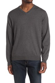 Oxford Candler Long Sleeve Performance V-Neck Swea