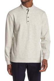 Oxford Bartlett Long Sleeve Button Front Pullover