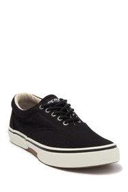 Sperry Halyard Lace Up Casual Sneaker - Wide Width