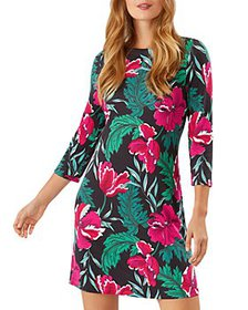Tommy Bahama - Darcy Baroque Blooms Print Dress