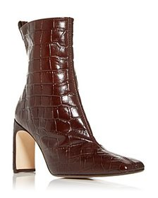 Miista - Women's Marcelle Croc-Embossed High-Heel
