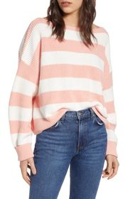 French Connection Mozart Striped Pullover Sweater