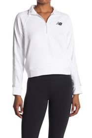New Balance Colorblock Quarter Zip Sweatshirt