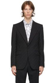 Givenchy - Black Classic Fit Blazer